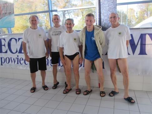Rydułtowscy pływacy zdobyli 16 medali na Mistrzostwach Polski w pływaniu Masters w Olsztynie