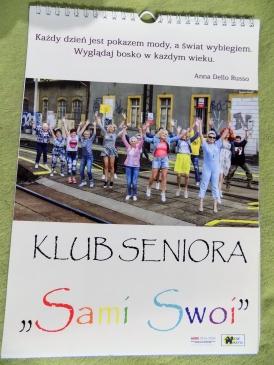Rydułtowski Senior to piękny i szczęśliwy Senior - kalendarz 2019 r.