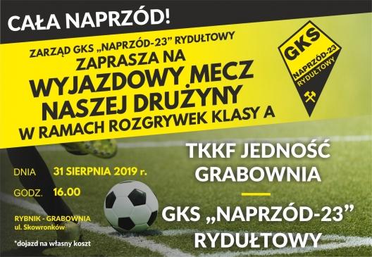 Zapraszamy na mecz GKS NAPRZÓD-23 Rydułtowy