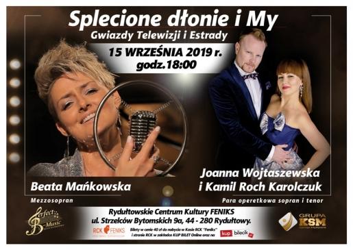 Koncert SPLECIONE DŁONIE I MY - Gwiazdy Telewizji i Estrady