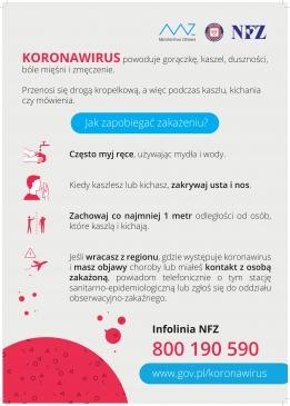 KORONAWIRUS - jakie działania należy podejmować