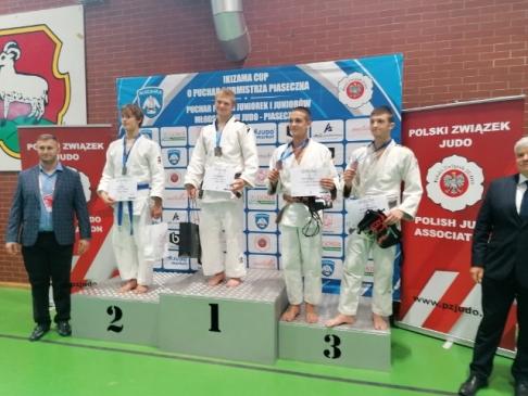 Wojciech Koziołek z UKS Dwójka złotym medalistą Pucharu Polski Kadetów