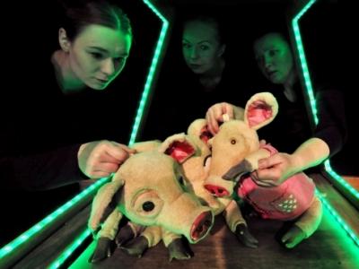 Trzy świnki, czyli magia teatru