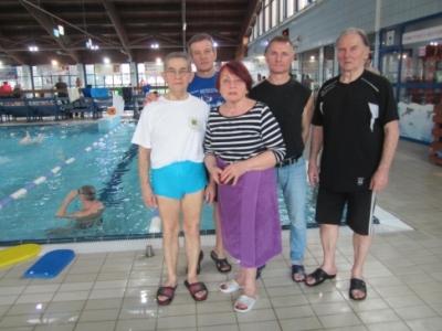 Start rydułtowskich pływaków w XV Mistrzostwach Dolnego Śląska