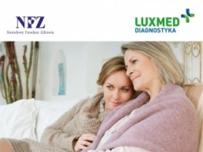 Bezpłatne badania mammograficznych w mobilnej pracowni mammograficznej LUX MED